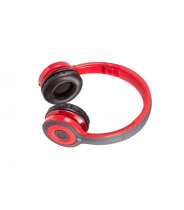 Słuchawki nauszne z Bluetooth i NFC Jello - czerwone