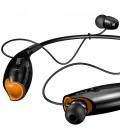 Słuchawki douszne z Bluetooth i mikrofonem Diamond - czarne