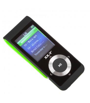 Odtwarzacz MP4 A496BT z funkcją Bluetooth - zielony