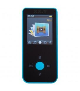 Odtwarzacz MP4 MP-502 z funkcją Bluetooth - niebieski