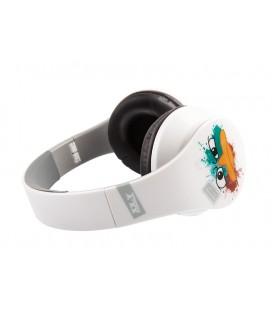 Słuchawki nauszne Phineas and Ferb - białe