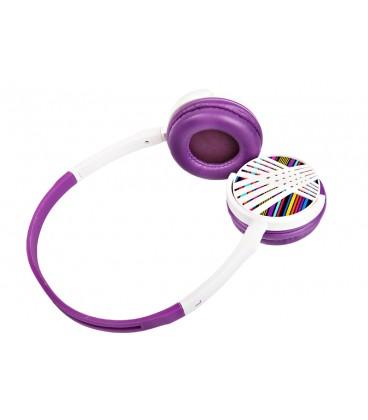 Słuchawki nauszne Rainbow Tattoo HPH-60