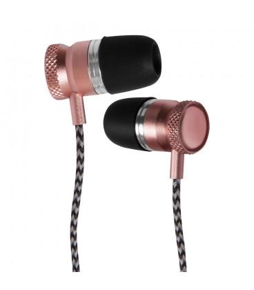 Douszne słuchawki Bluetooth METALPRO SM01 - różowe