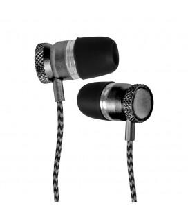 Douszne słuchawki Bluetooth METALPRO SM01 - grafitowe