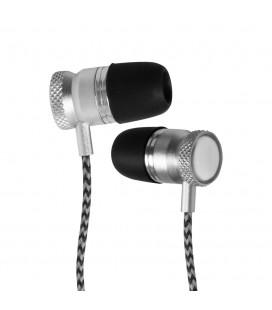 Douszne słuchawki Bluetooth METALPRO SM01 - srebrne