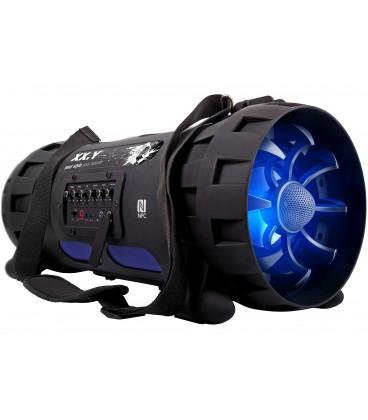 Przenośny system audio z Bluetooth i NFC Bazooka