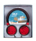 Słuchawki nauszne 3D Art 20 - czerwone