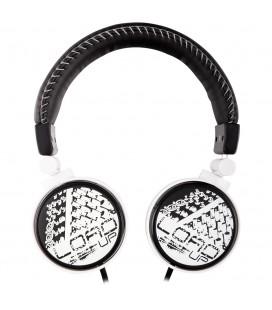 Słuchawki nauszne 3D Art 20 - białe