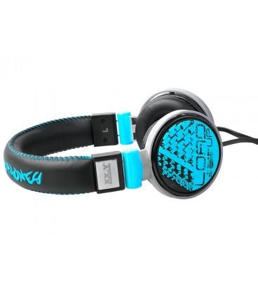 Słuchawki nauszne 3D Art 20 - niebieskie