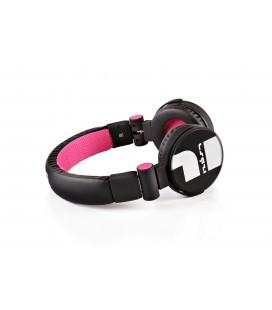 Słuchawki nauszne Carbon 10 - różowe