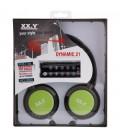 Słuchawki nauszne z MP3 Dynamic 21 - zielone