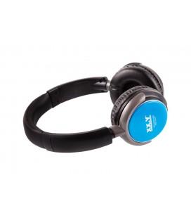 Słuchawki z wbudowanym odtwarzaczem mp3 i radiem Dynamic 21 - niebieskie