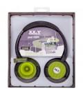 Słuchawki nauszne z MP3 Dynamic 40 - zielone