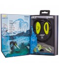 Wodoodporne słuchawki z Bluetooth H2O - żółte