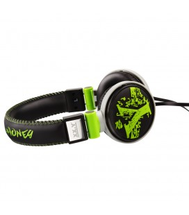 Słuchawki nauszne 3D Art 10 - zielone