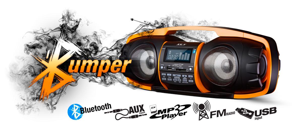 Przenośny system audio Bluetooth