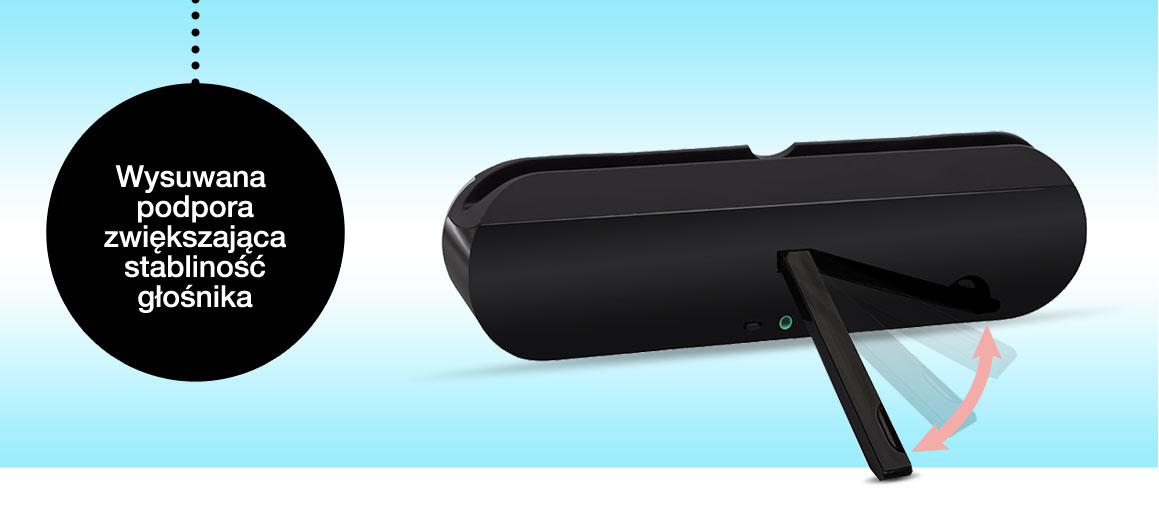 Bezprzewodowy głośnik Bluetooth Bring BT023 - żółty