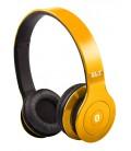Słuchawki nauszne z Bluetooth Bluewave 20 - żółte