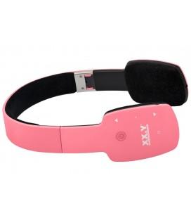 Słuchawki nauszne z Bluetooth Kuki - różowe