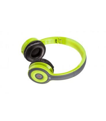 Słuchawki nauszne z Bluetooth i NFC Jello - zielone