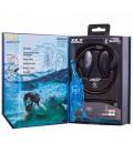 Wodoodporne słuchawki z Bluetooth H2O - czarne